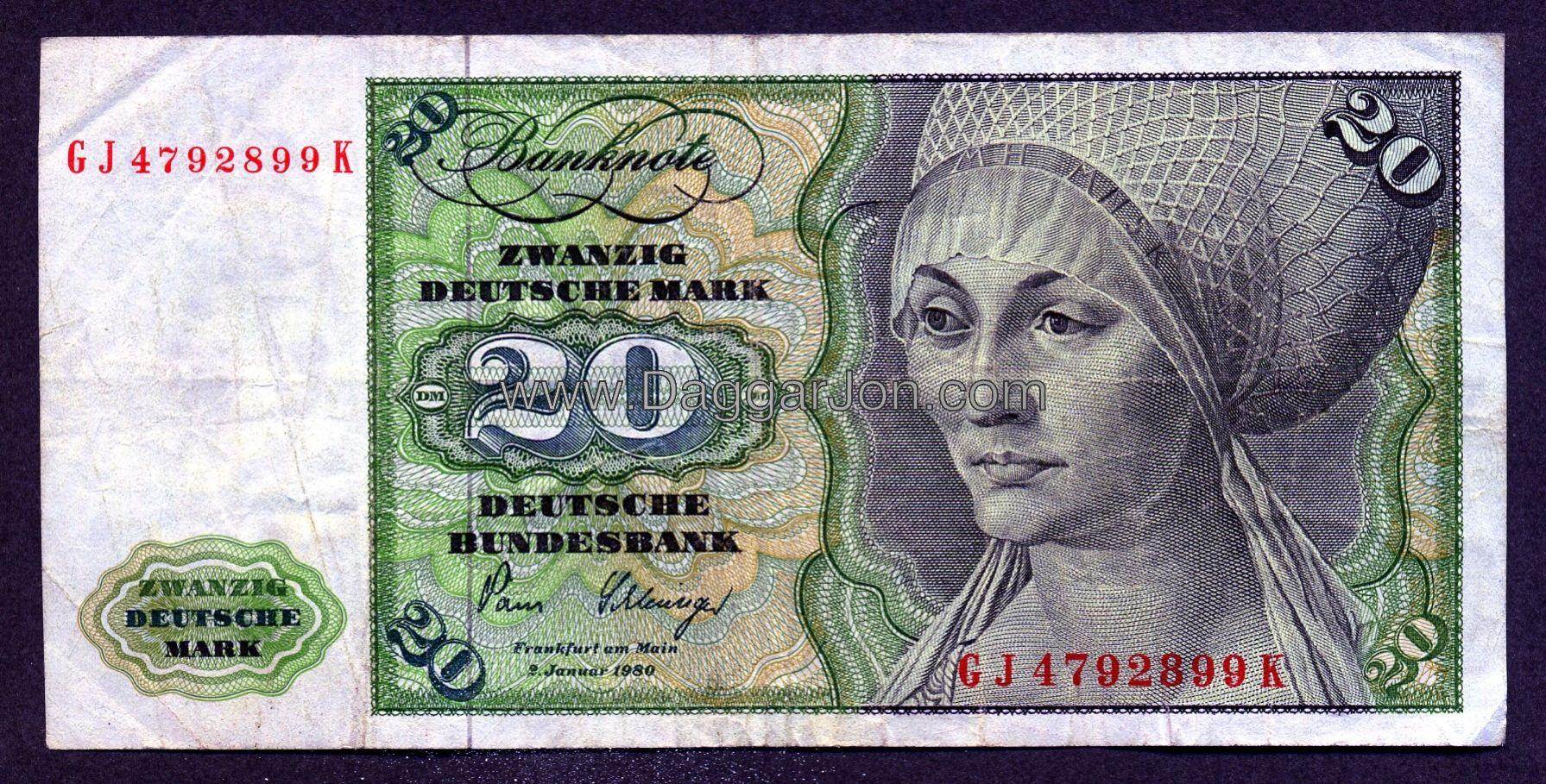 german money Germany Federal Republic (West Germany