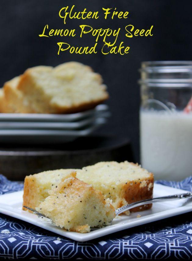Gluten Free Lemon Poppy Seed Pound Cake Recept