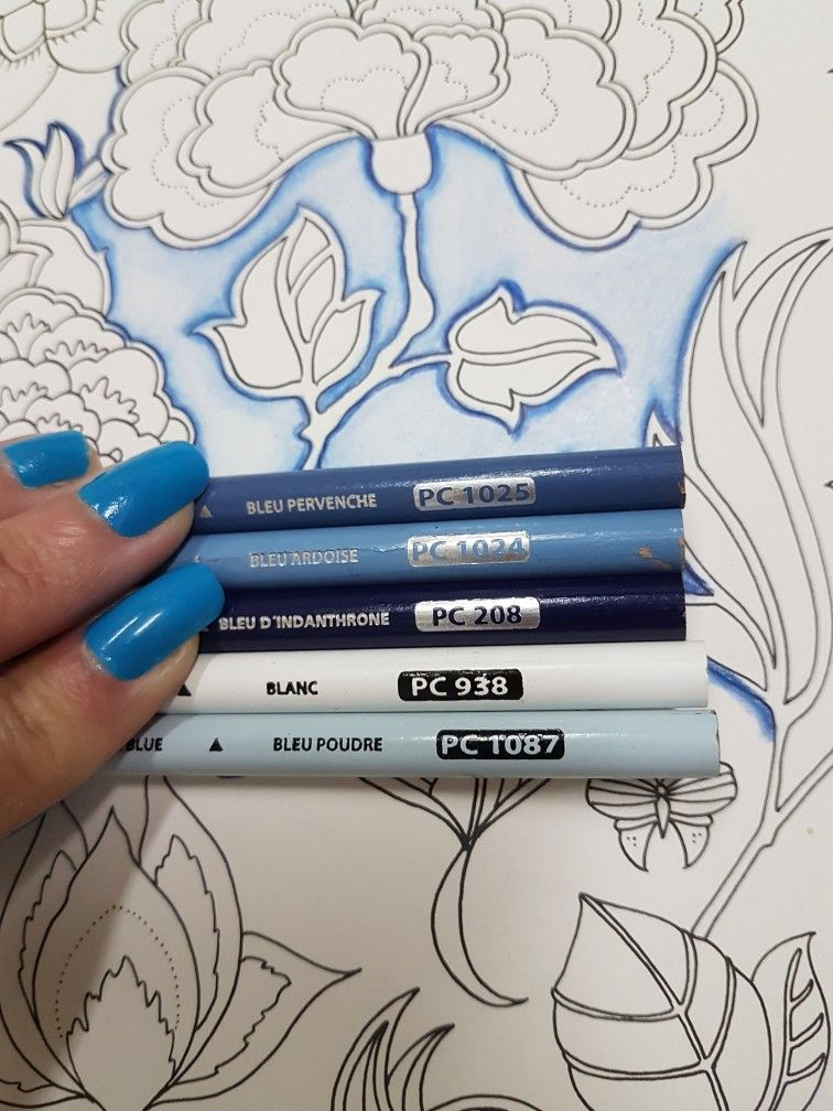 Prismacolor Pencil 208 Indanthrone Blue
