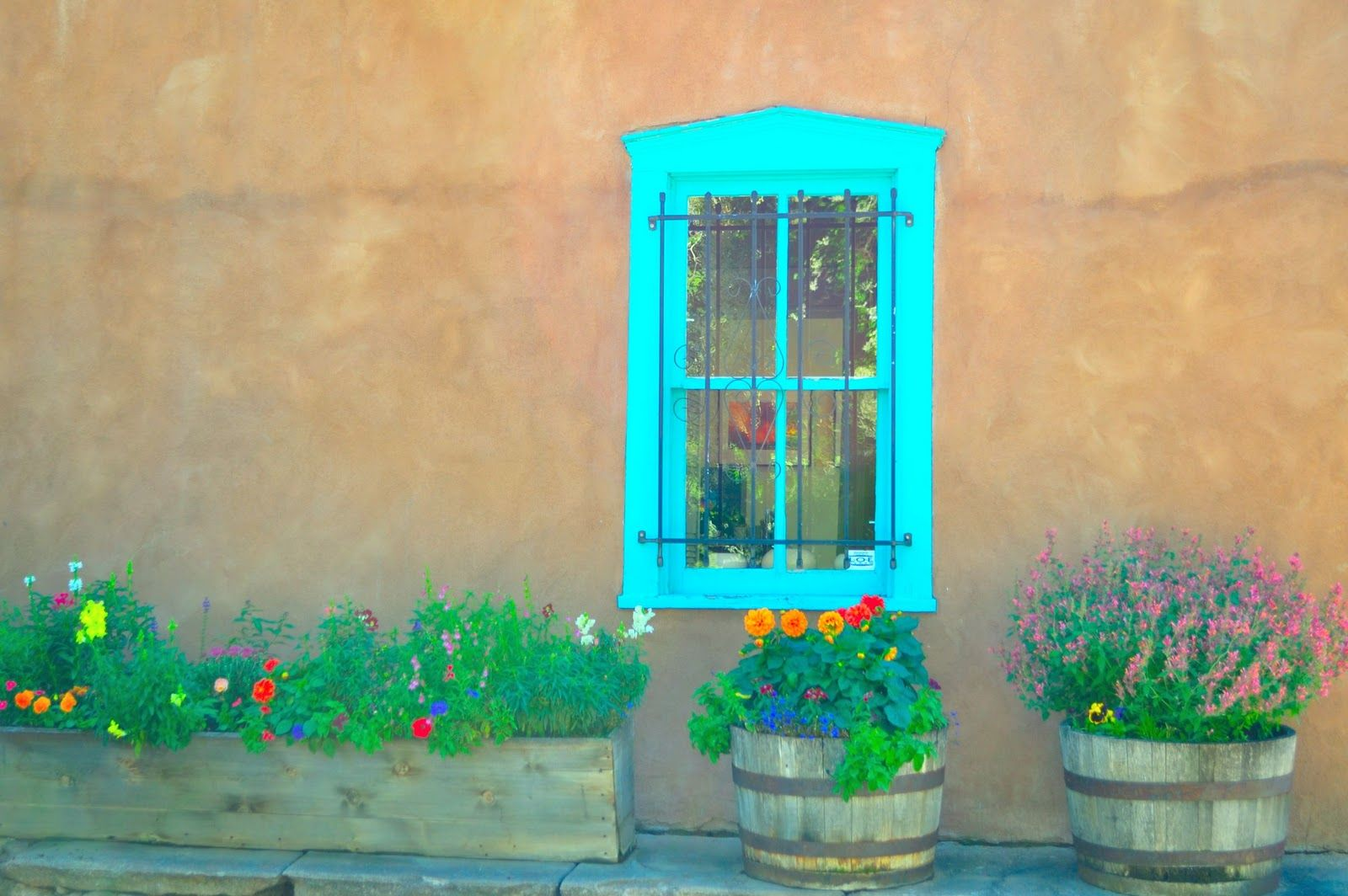 Santa Fe Blue Paint Color Trails And Tales