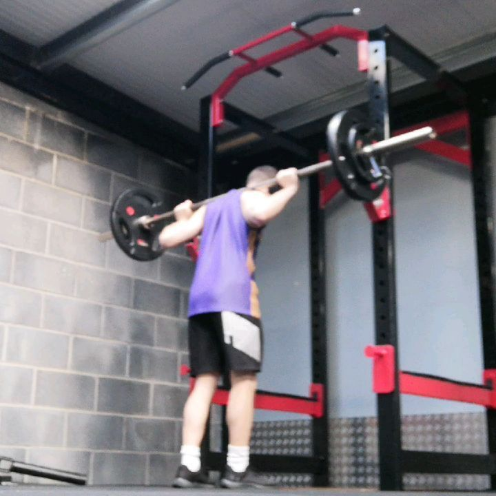 Squat day  70KG for 8 Reps  If you are looking to improve your back squat or even just start squatt