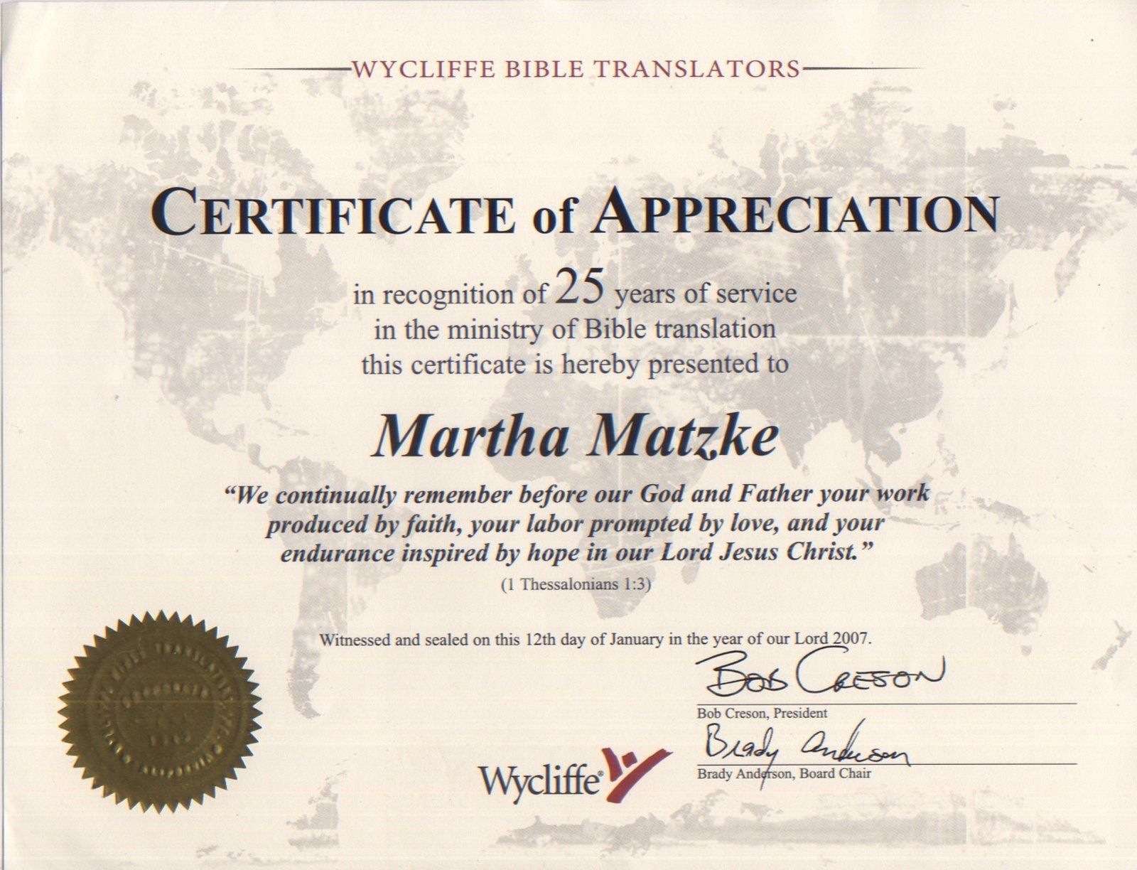 certificate appreciation template wording church letter completion printable templates certificates religious recognition christian sample employee pastor award clip awards clipart