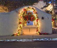 christmas decorations in santa fe - Christmas In Santa Fe