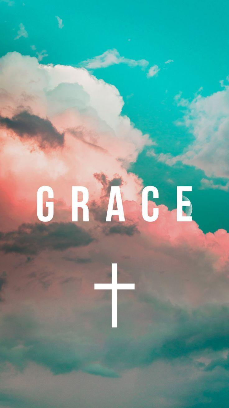 Christian 'Grace' IPHONE WALLPAPER