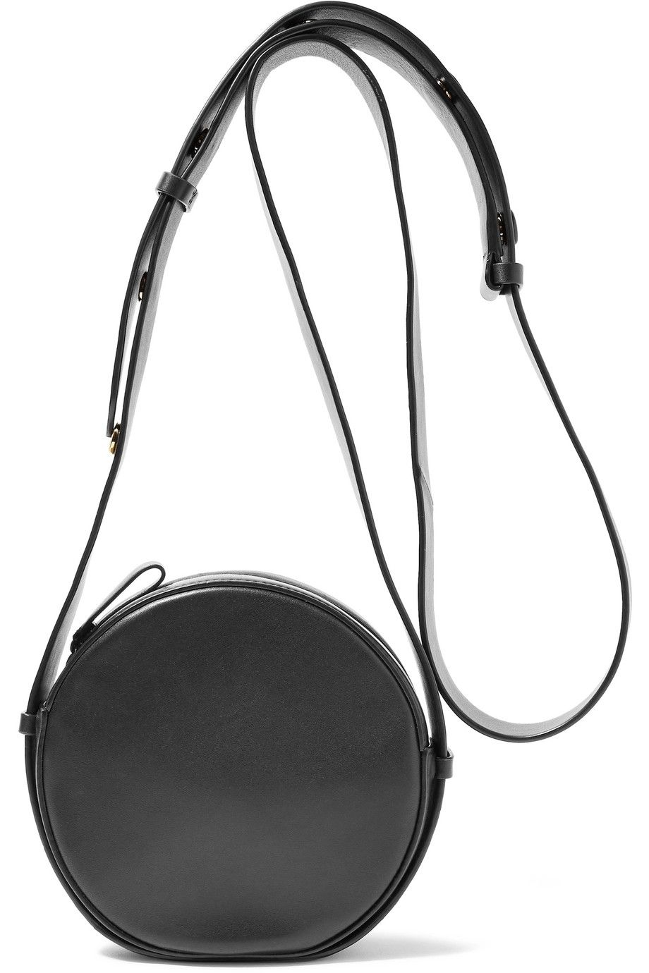 DIANE VON FURSTENBERG Circle Leather Shoulder Bag ...