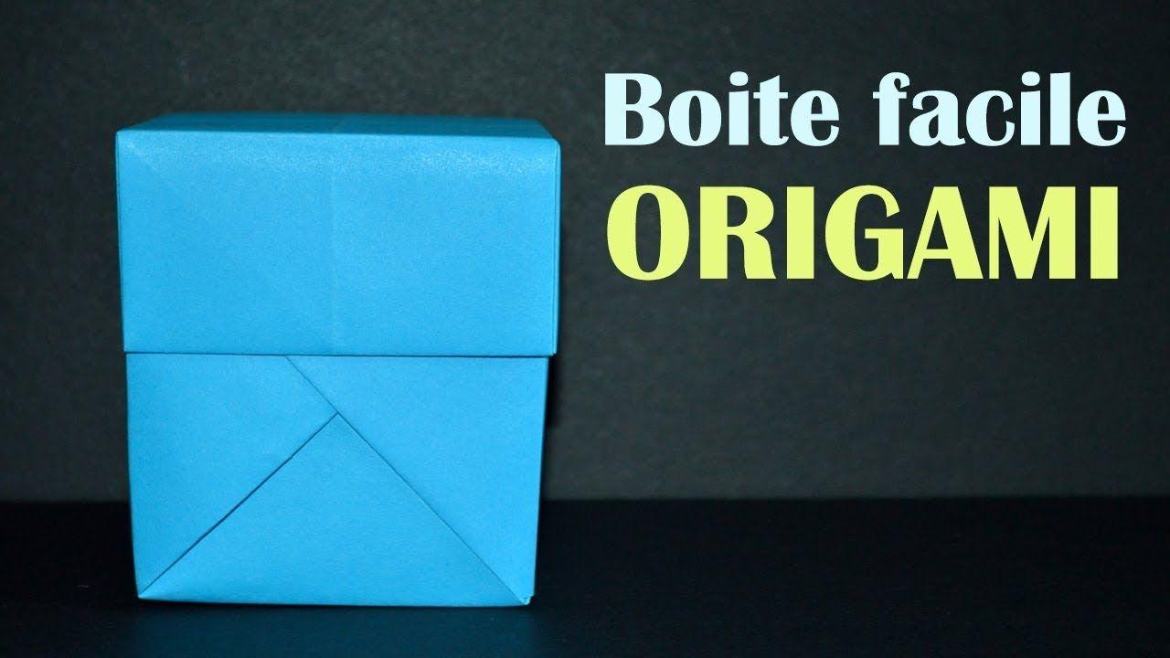 Origami : Boite Rectangulaire | Origami, Origami boite, Boite | 720x1280