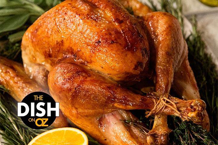 The Dish S Dry Brine For Roasted Turkey With Compound Butter Recipe Roasted Turkey Compound Butter Turkey Brine