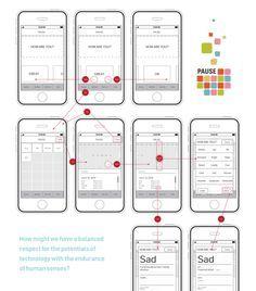 Muse Shopping App Wireframes By Caroline Wiryadinata User