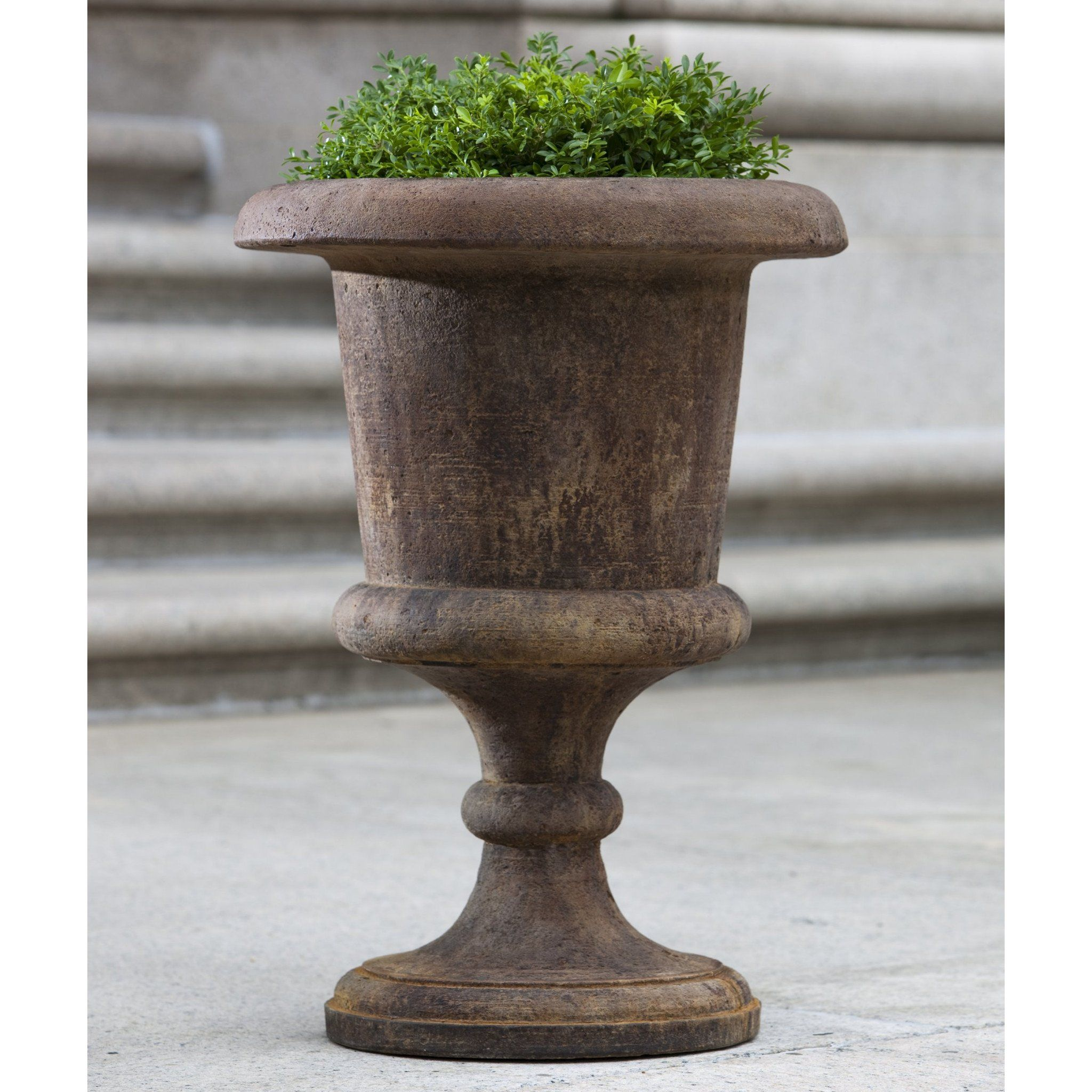 planters urn like resin garden trio planter kylemore self outdoor watering and plastic kylmore urns stone of a in buy