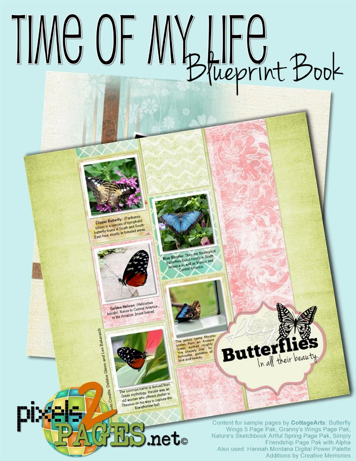 Time of my life blueprint book travel album scrapbooking ideas time of my life blueprint book get a sneak peak at the this blueprint book which was designed as a travel album but is perfect for almost any occasion malvernweather Gallery