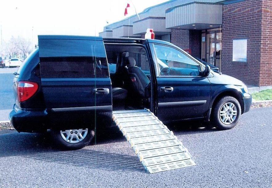 26 Quot Ramp For Side Door Of Mini Van Www Rollaramp Com