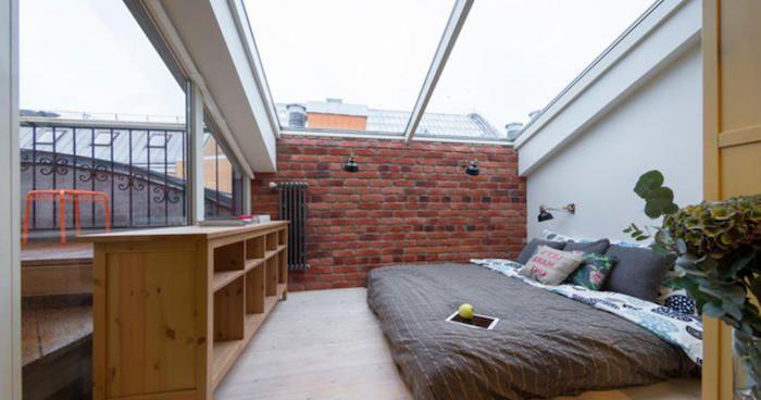 1001 ideen f r einrichtung von einer mansarde unter den sternen dachgeschosswohnung und. Black Bedroom Furniture Sets. Home Design Ideas