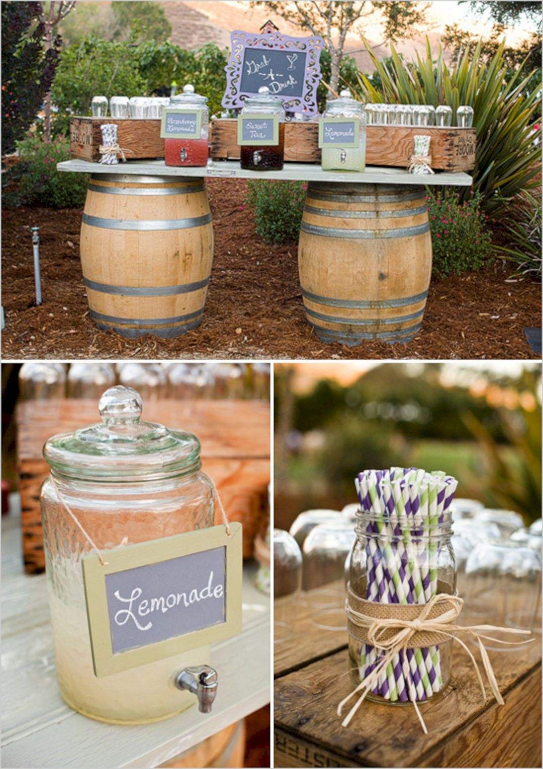 Best diy rustic wedding decorations ideas for your wedding decor