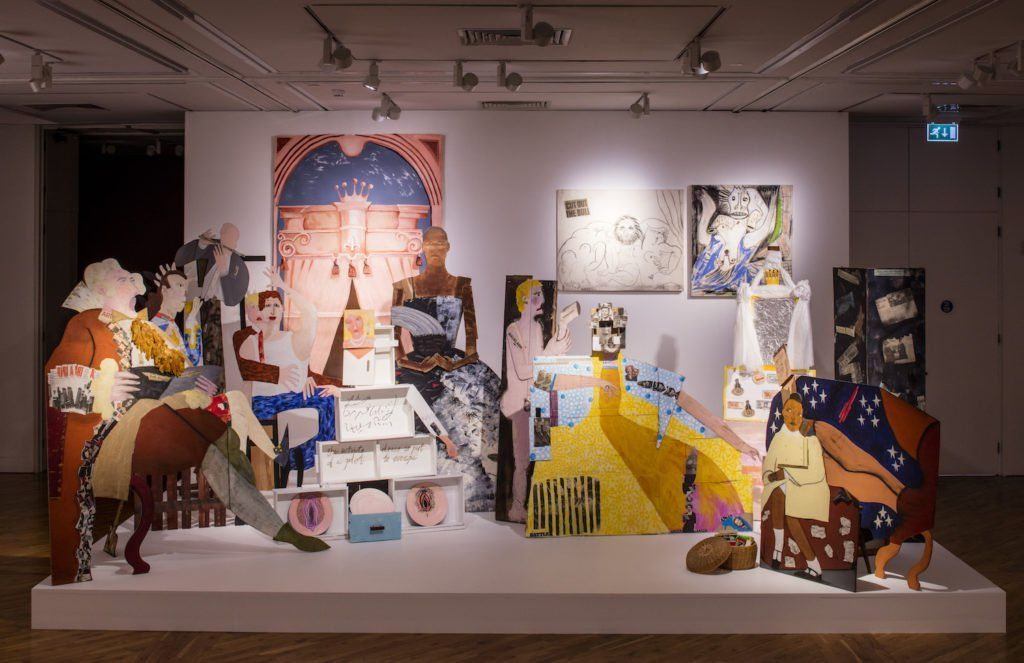 Lubaina Himid A Fashionable Marriage 1987 At The Turner Prize 2017 Exhibition Ferens Art Gallery Hull Loaned From Holl Turner Prize Art Gallery Exhibition
