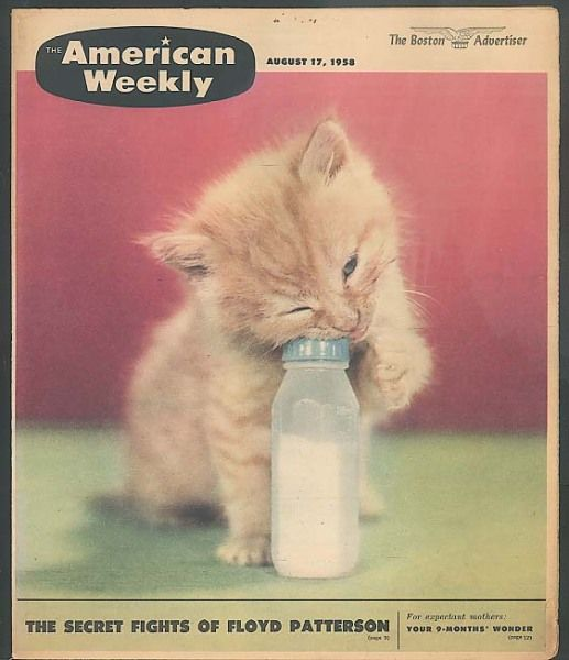 """""""The American Weekly"""" magazine cover (August 17, 1958)"""