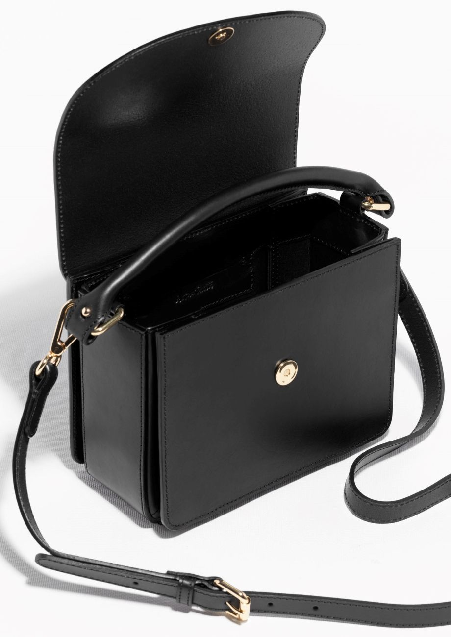 d4773ed7a & Other Stories | Structured Leather Shoulder Bag | Things | Leather ...