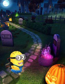 minion halloween game