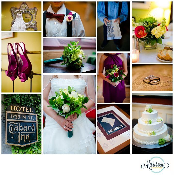 Washington DC Weddings, Tabard Inn