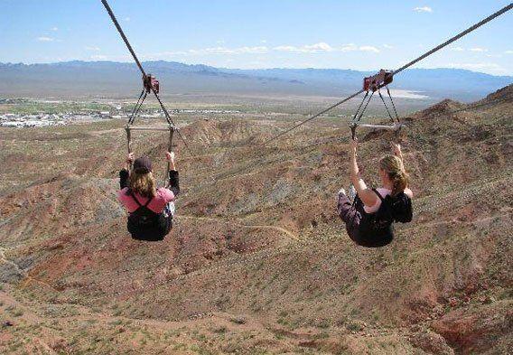 Best Zip Lining In Vegas