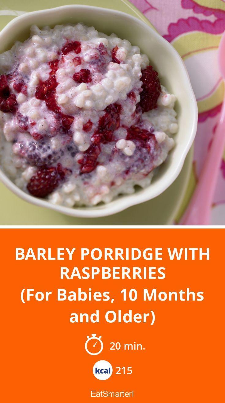 Barley porridge with raspberries recipe food recipes