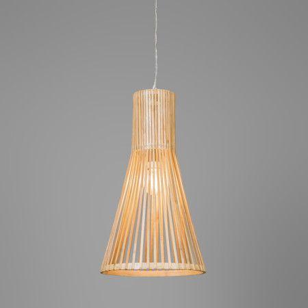 pendelleuchte bamboo 1 natur pendelleuchten pendelleuchte lampen und leuchten. Black Bedroom Furniture Sets. Home Design Ideas