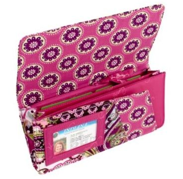 efeda89c1ff3 Vera Bradley Wallets  19.99 + Clearance Sale