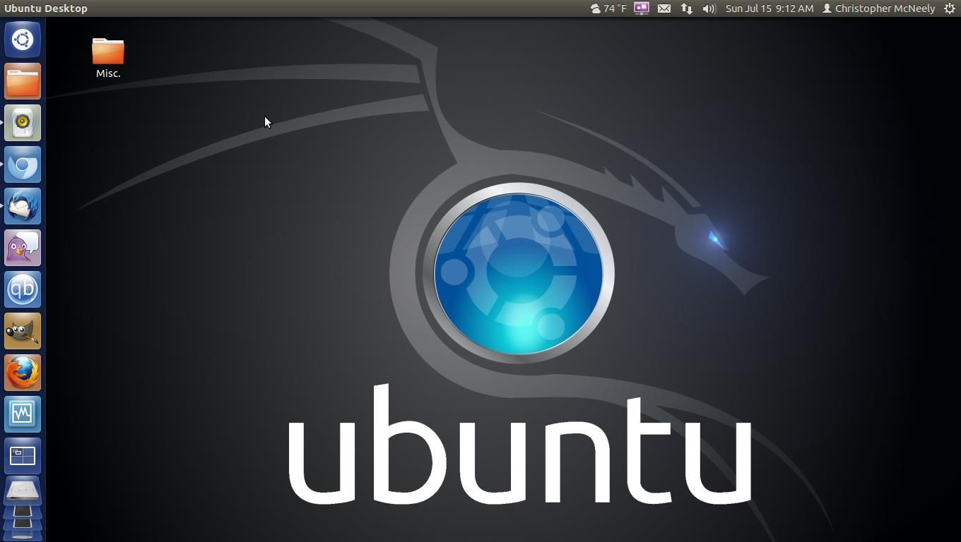 My ubuntu desktop my custom pc pinterest custom pc