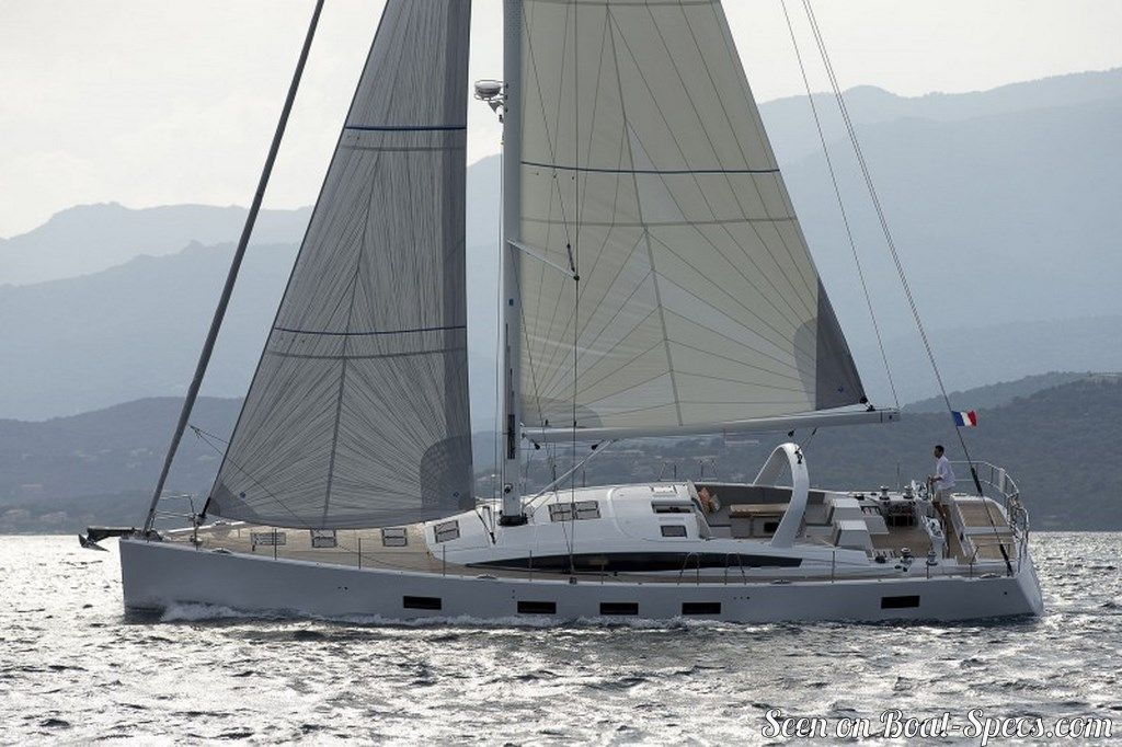 Jeanneau 64 standard specifications and details on Boat