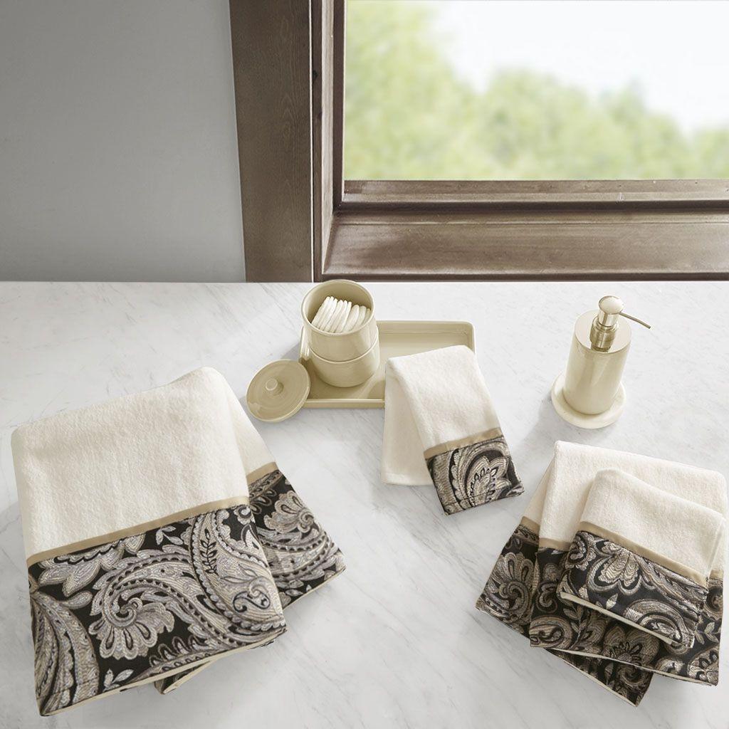 Aubrey 6 Piece Jacquard Towel Set | Breeze, Towels and Designer living