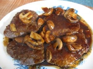 Tenderized Round Steak Tonight S Dinner Other Great Gf Recipes Too Round Steak Recipes