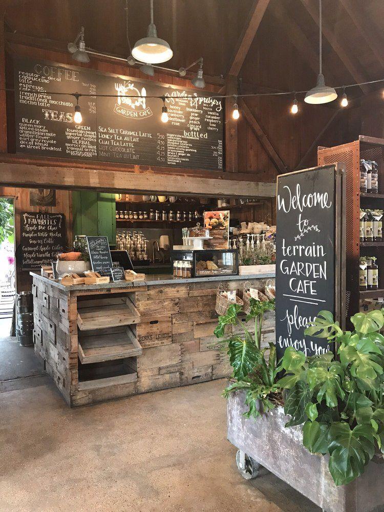 Entrance! Garden cafe, Cafe, Garden