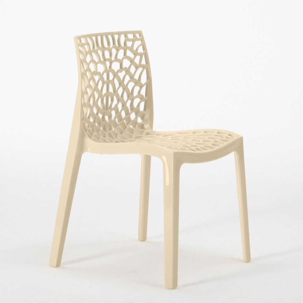 Polypropylene Design Chair Made In Italy For The Kitchen Restaurant Gruvyer Avec Images Chaise Fauteuil Chaise Plastique Chaise
