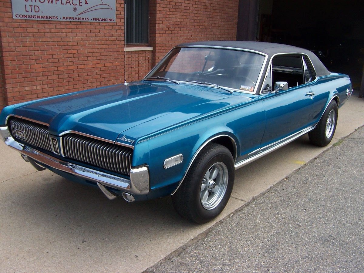 68 cougar | Just Go Shopping – Classic Car Watch for August 2005
