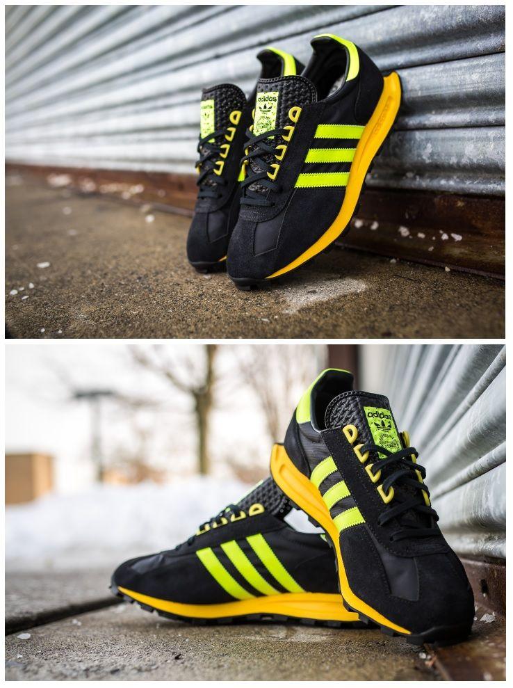 adidas Originals Racing 1 Formel: Black/Yellow. Sneakers AdidasVintage Stuff Adidas OriginalsMens ...