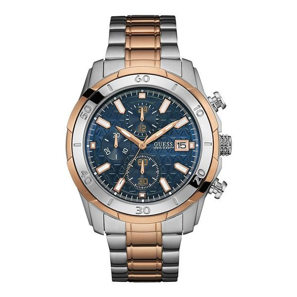 88747c1e7937 Vault Multi-Function Two-tone Stainless Steel Men s Watch   Guess ...