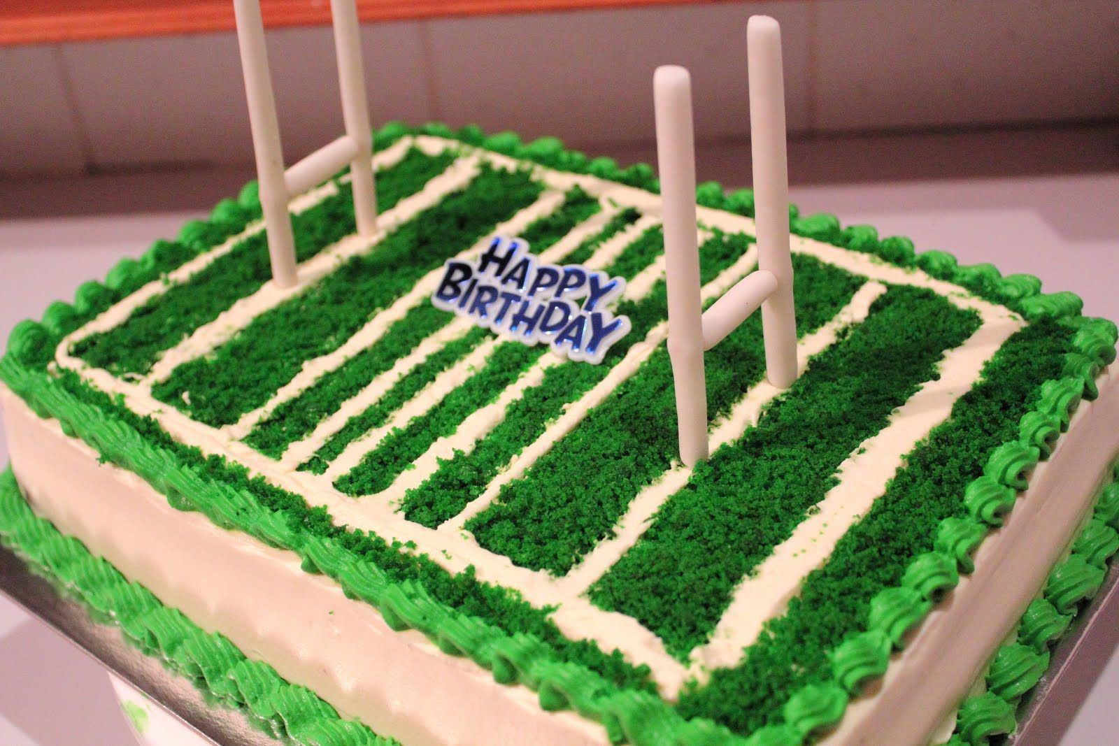 Pin Rugby Cake On Pinterest