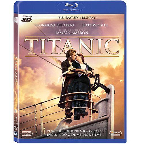 Box - Titanic (Blu-ray 3D + Blu-ray)