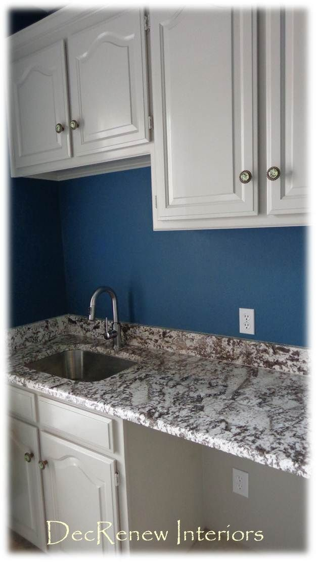 Sherwin Williams Under The Sea Makes A Great Laundry Room Color
