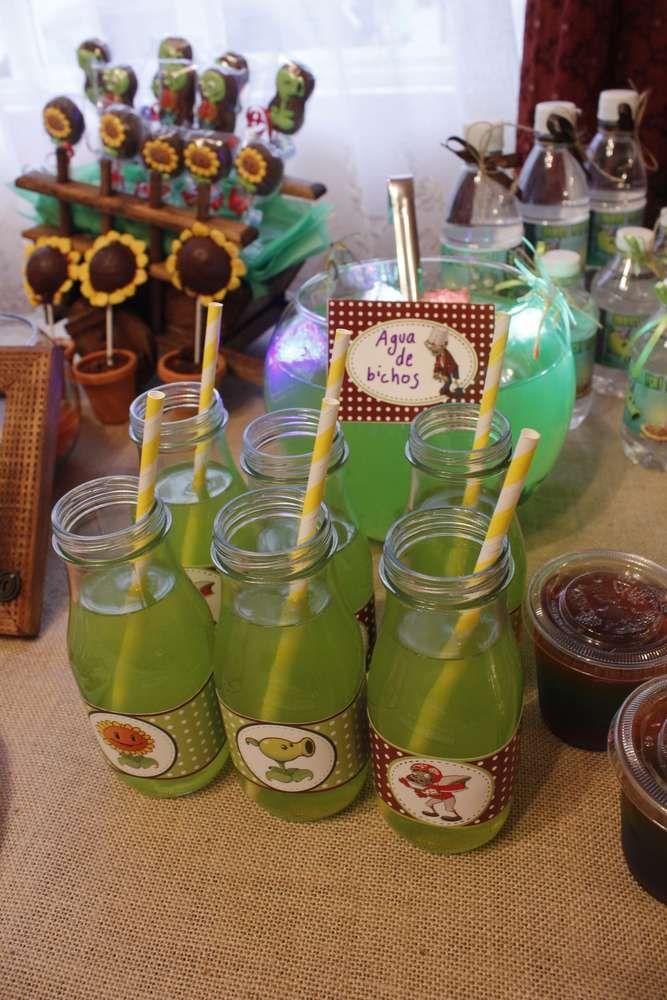 Plants Vs Zombies Birthday Party Ideas Photo 1 Of 49