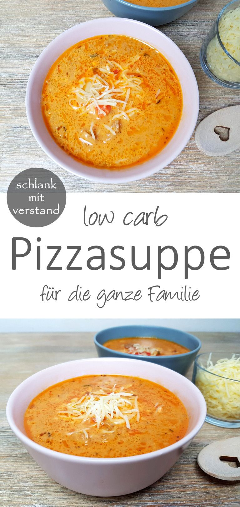 Pizzasuppe low carb #schnellerezeptemittagessen