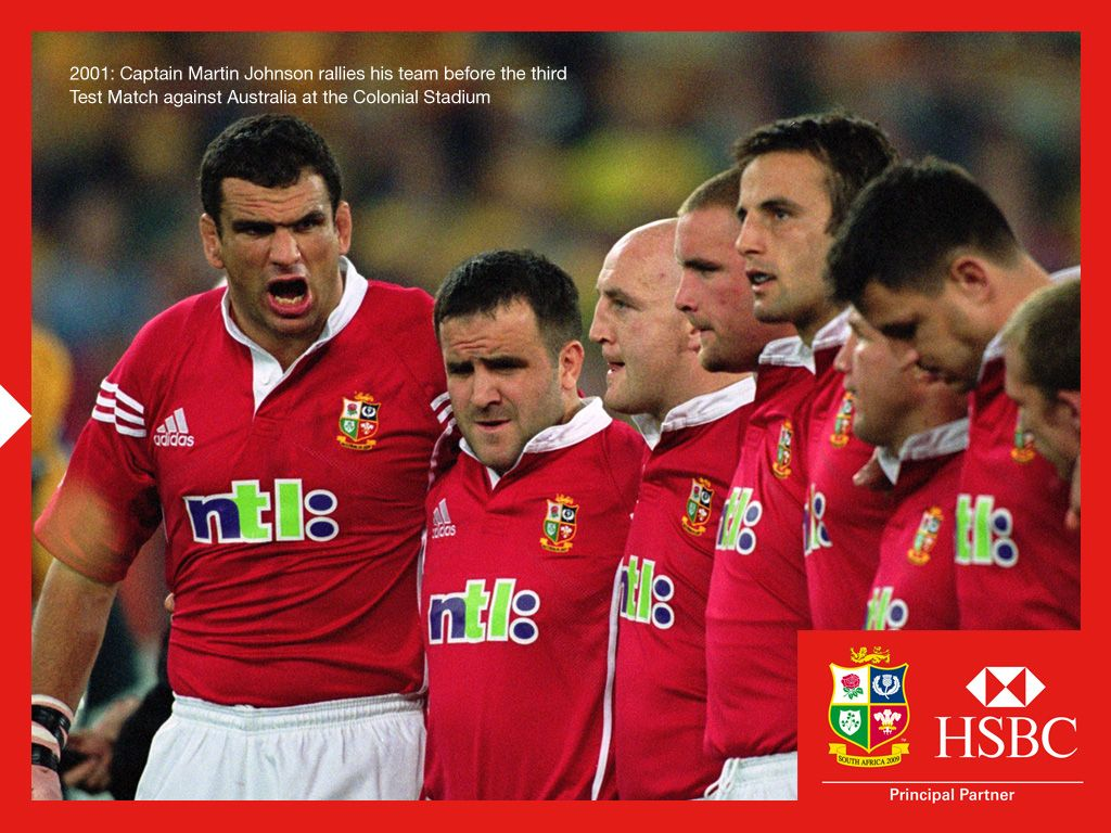 06 May 2008 Wallpapers Through The Years 2001 British And Irish Lions British Lions Lions Rugby