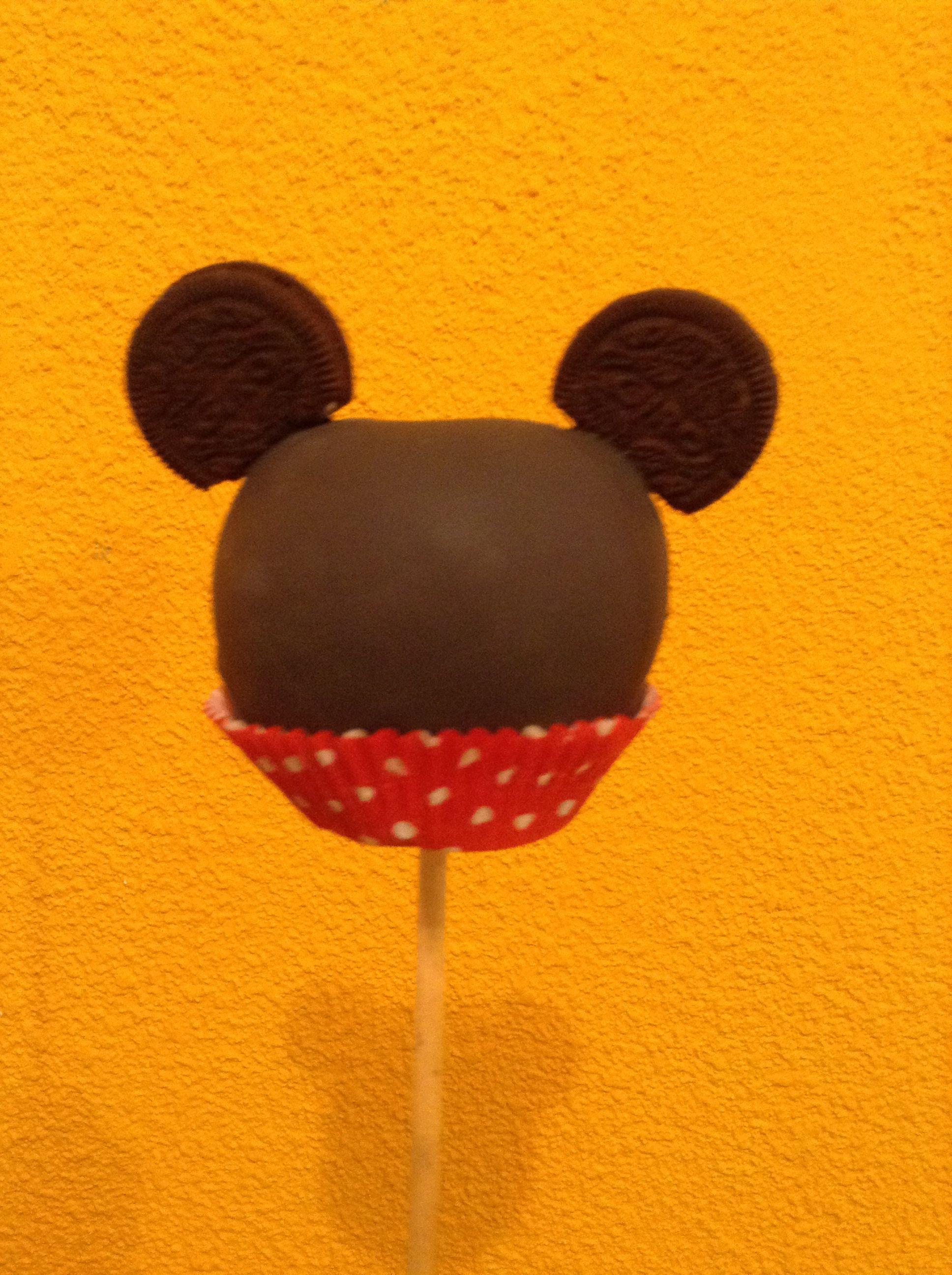 Mickey Chocolate Apple