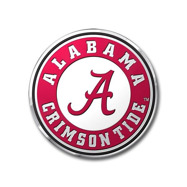 University of Alabama Crimson Tide Chrome Emblem