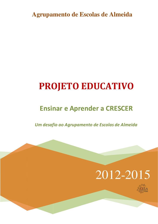 Projeto Educativo  Agrupamento de Escolas de Almeida