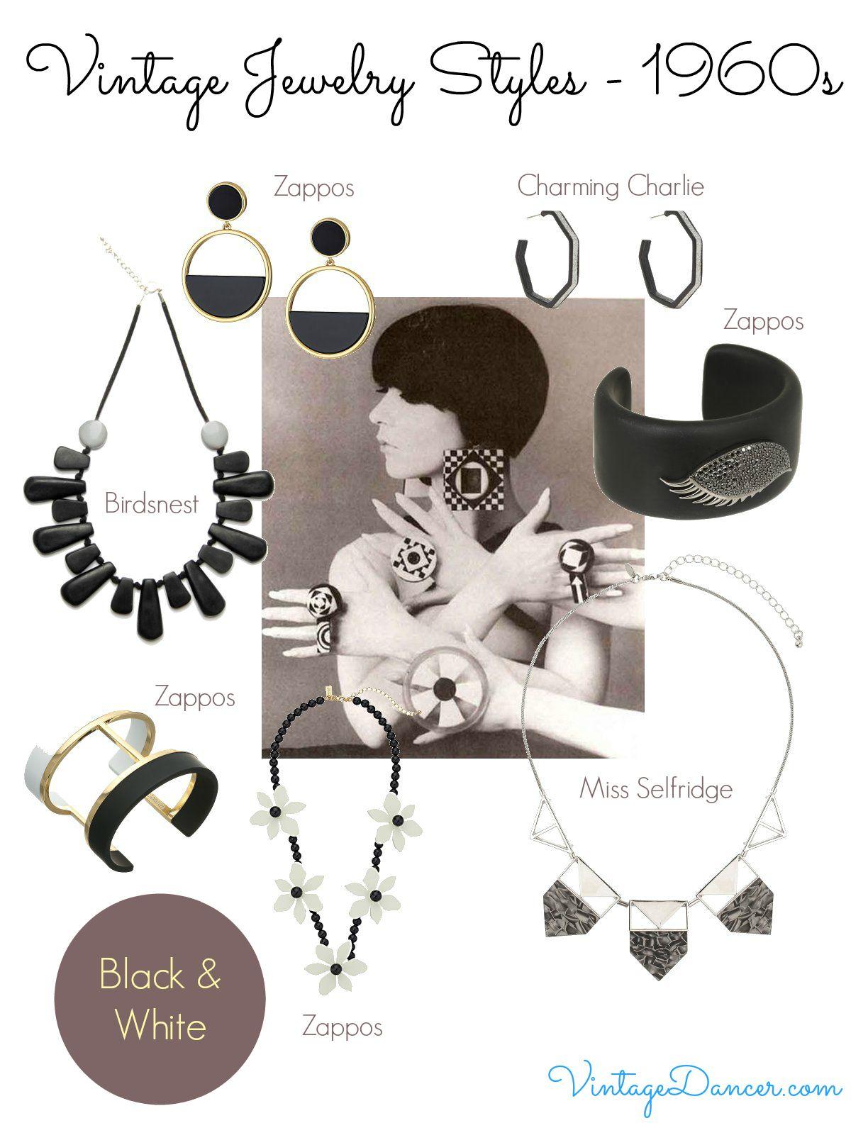 1960s Jewelry Styles And Trends To Wear 1960s Jewelry Mod Jewelry Fashion Jewelry