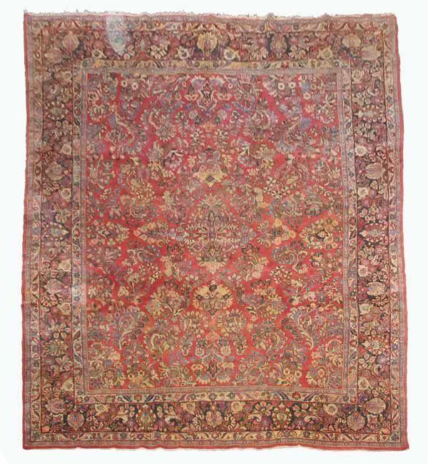 Sarouk Carpet West Persia Circa 1930 40 13 Ft 7 In X 10 Ft 2 In Carpet Persia Persian Rug