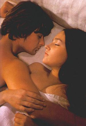 Romeo And Juliet Have Their Wedding Night Franco Zeffirelli 1968 Romeo And Juliet Olivia Hussey Zeffirelli Romeo And Juliet