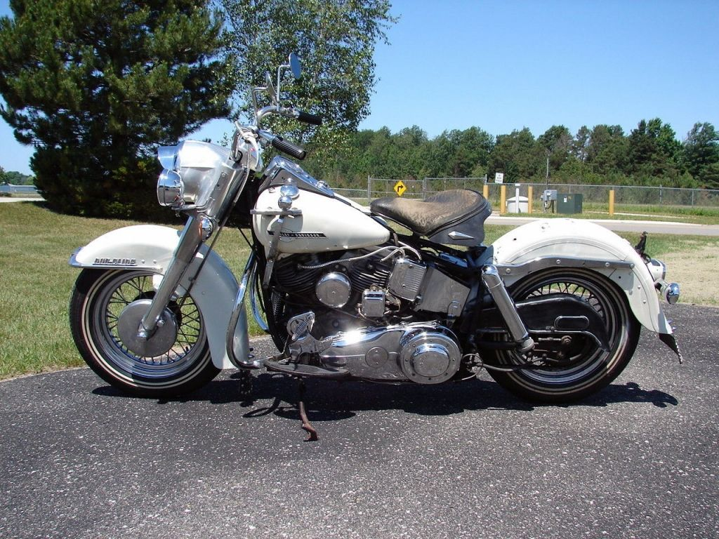 1963 Harley Davidson Fl Police Special Panhead In Original Paint Unrestored