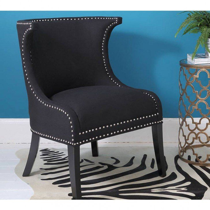 Mayfair Black Chair - French Bedroom Chair | French Bedroom ...