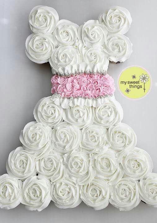 Wedding dress cupcakes | Wedding anniversary | Pinterest | Wedding ...